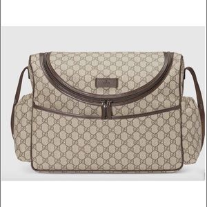 Gucci bulletproof baby bag